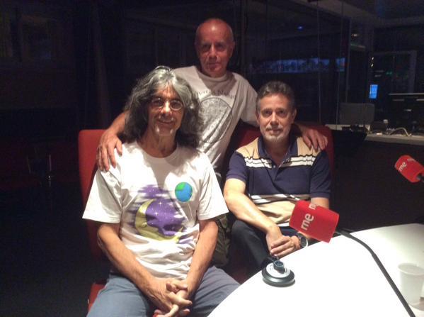 Con Miguel Blanco y Jesús Callejo en Espacio en Blanco 6 sept 2015