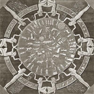 Zodiaco de Dendera Astrología Cassanya