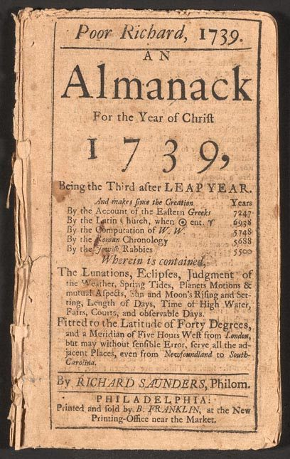 Poor_Richard_Almanack_1739