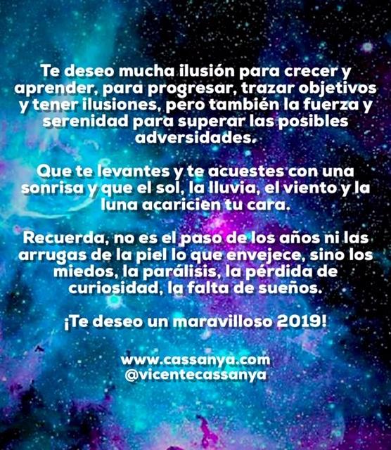 Horóscopo anual 2019-Astrología por Vicente Cassanya